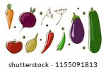 vector illustration of... | Shutterstock .eps vector #1155091813