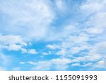 blurred sky blue or azure sky... | Shutterstock . vector #1155091993