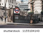 london  uk   july 24  2018 ... | Shutterstock . vector #1155104143