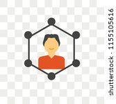 skills vector icon isolated on... | Shutterstock .eps vector #1155105616