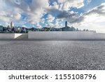 empty road with modern business ... | Shutterstock . vector #1155108796