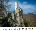 lichtenstein castle  the fairy... | Shutterstock . vector #1155122623