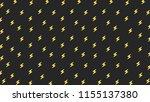 thunder pattern wallpaper.... | Shutterstock .eps vector #1155137380