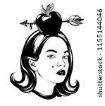 vector hand drawn illustration...   Shutterstock .eps vector #1155144046