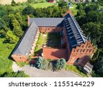 aerial view of ruins of... | Shutterstock . vector #1155144229