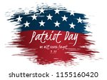 we will never forget patriot... | Shutterstock .eps vector #1155160420