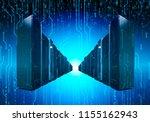 ranks of supercomputer data... | Shutterstock . vector #1155162943