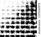 grunge halftone black and white ... | Shutterstock .eps vector #1155163573