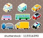 cart stickers | Shutterstock .eps vector #115516390