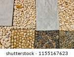 the stones were arranged neatly.... | Shutterstock . vector #1155167623