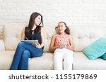 happy psychologist looking at...   Shutterstock . vector #1155179869