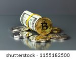 coins of different crypto...   Shutterstock . vector #1155182500