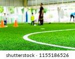 corner line of an indoor... | Shutterstock . vector #1155186526