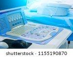 a medical equipment background  ... | Shutterstock . vector #1155190870