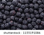 Fresh Ripe Blackberries As...