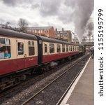east lancashire railway  bury ... | Shutterstock . vector #1155195799