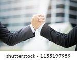 business man group ban storm   Shutterstock . vector #1155197959