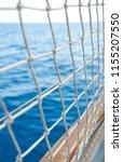 sailboat in open sea | Shutterstock . vector #1155207550