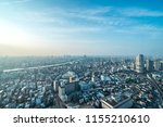 view of downtown cityscape... | Shutterstock . vector #1155210610