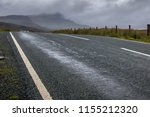 scottish street leading to the...   Shutterstock . vector #1155212320
