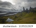the famous old man of storr on...   Shutterstock . vector #1155212329