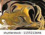 gold marbling texture design.... | Shutterstock . vector #1155213646