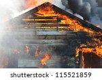 A Blazing Fire Burns Through...