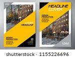 business brochure. flyer design....   Shutterstock .eps vector #1155226696