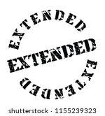 extended stamp on white | Shutterstock .eps vector #1155239323