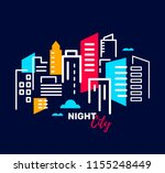 real estate and construction... | Shutterstock .eps vector #1155248449
