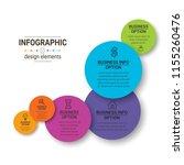 modern infographic choice... | Shutterstock .eps vector #1155260476