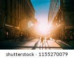 helsinki  finland. people...   Shutterstock . vector #1155270079