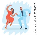 international dance day vector... | Shutterstock .eps vector #1155278023