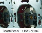 disassembled power socket.... | Shutterstock . vector #1155279703