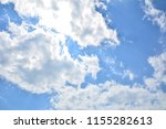 glowing blue sky | Shutterstock . vector #1155282613