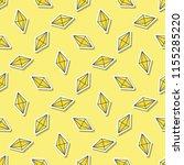 gemstone pattern. seamless... | Shutterstock .eps vector #1155285220