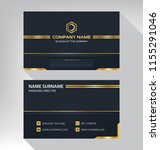 business model name card luxury ... | Shutterstock .eps vector #1155291046