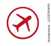 airport icon  pictogram | Shutterstock .eps vector #1155295693