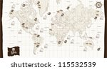 piratemap | Shutterstock .eps vector #115532539