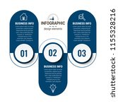 unique infographics template | Shutterstock .eps vector #1155328216