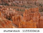 Sunrise In Bryce Canyon With...
