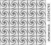 seamless pattern of interlaced... | Shutterstock .eps vector #1155343783