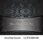 vector illustration of black... | Shutterstock .eps vector #115538038