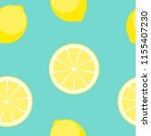 abstract lemon seamless pattern ... | Shutterstock . vector #1155407230