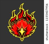 eagle head animal mascot  ... | Shutterstock .eps vector #1155407956