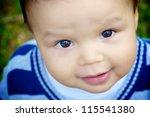 Cute 1 Year Old Asian Caucasia...