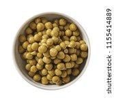 green pea in bowl. preparing...   Shutterstock . vector #1155414889
