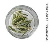 rosemary in bowl. preparing...   Shutterstock . vector #1155415516