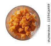 carrot on bowl. preparing...   Shutterstock . vector #1155416449