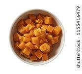 carrot on bowl. preparing...   Shutterstock . vector #1155416479